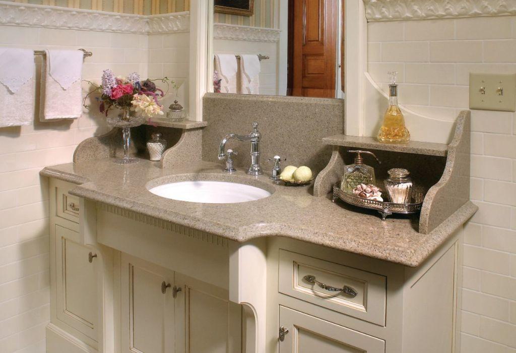 Example of Custom Bathroom Vanity