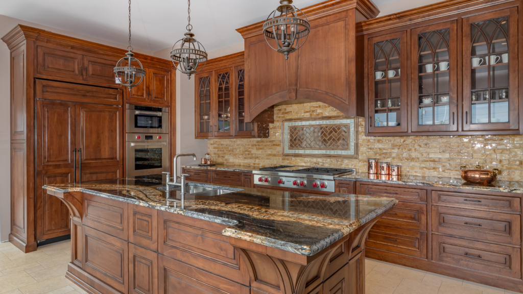 Gallery: Custom Granite Countertop, Custom Cabinets, Appliances